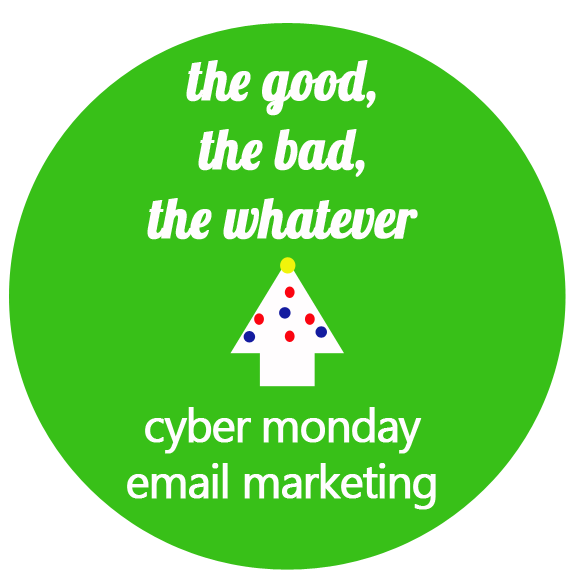 Cyber Monday Email Marketing :: #EatSleepMarket