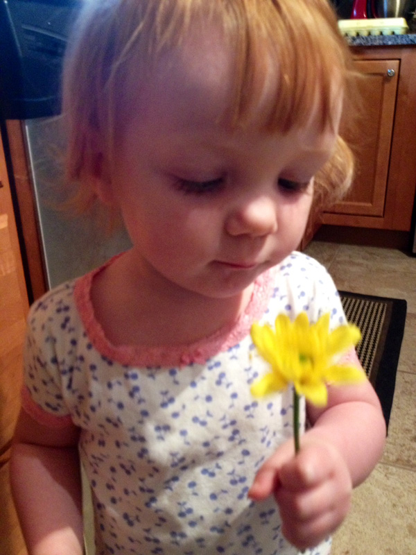 Mads and Flower
