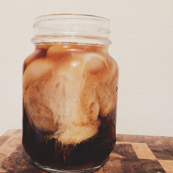 Iced Coffee + Amazing(ly Easy) Simply Syrup