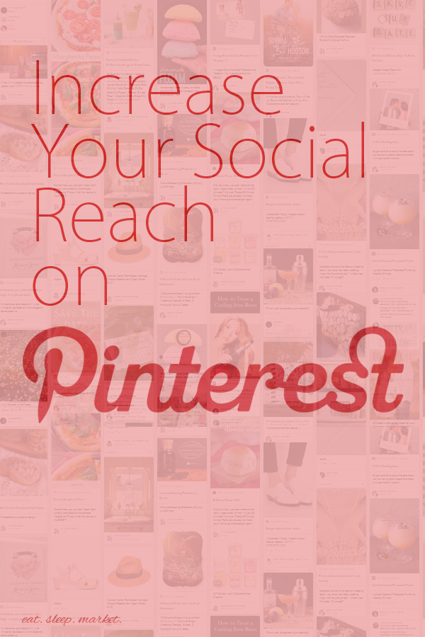 Social Reach | Increase your following on Pinterest