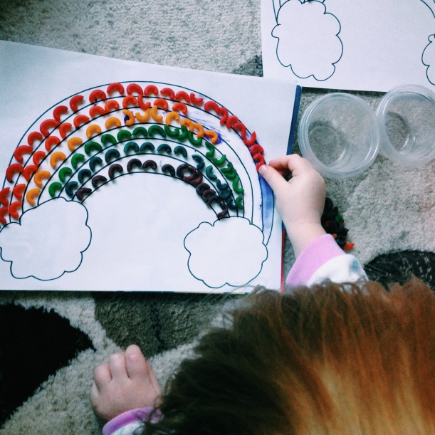Noodle Rainbow | Toddler Activity